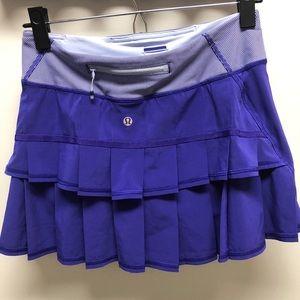 purple lululemon skirt